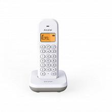 Alcatel Téléphone solo sans fil E195 BLANC/GRIS