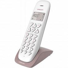 Logicom Téléphone sans fil solo VEGA 150 SOLO TAUPE