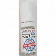 Concentré fruits rouges 10ml lorliquide