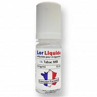 Tabac mb 0 mg  lorliquide