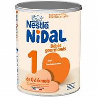 Nestle nidal 1 gourmands boite métal 800g 0-6mois