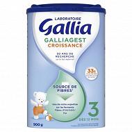 Gallia 3 Galliagest Croissance 900g à partir de 12 mois