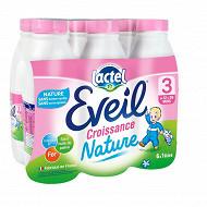 Lactel Eveil lait de croissance nature 1x6l