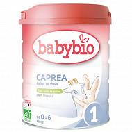 Babybio lait poudre 1er âge caprea 0 à 6 mois 800g