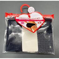 Lot de 3 slips Variance MN1 MIDNIGHT/NUDE/IMP 44\46
