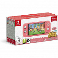 CONSOLE SWITCH LITE CORAIL + ANIMAL CROSSING