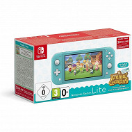 Console Switch lite turquoise + animal crossing