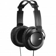 Jvc - Casque hi fi traditionnel noir HA-RX330-E