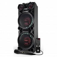 My deejay Enceinte trolley dj high power bluetooth 600 watts réf. SOUNDMAGIC 600
