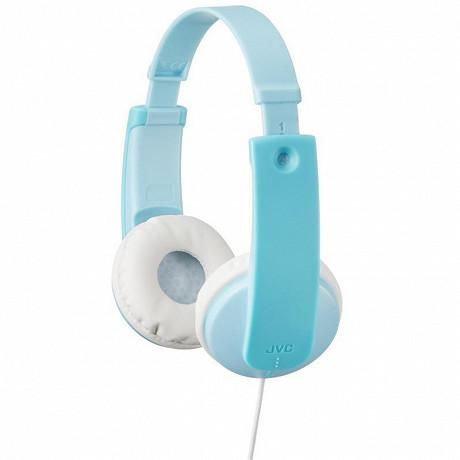 Jvc - Casque enfant bleu menthe/blanc HA-KD7-Z-E
