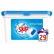 Skip lessive capsules active clean 29 pc