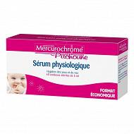 Mercurochrome sérum physiologiques 40 unidoses de 5ml