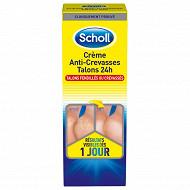 Scholl creme anti crevasse talons 24h 60ml