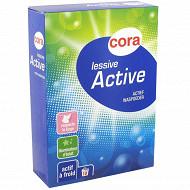 Cora lessive poudre active 650g 10 lavages