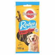 Pedigree rodeo duos recompenses au boeuf et saveur fromage pour chien