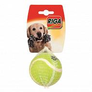 Riga - Jouet balle de tennis pour chien