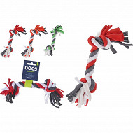 Accessoire d'activité chien corde 24 cm