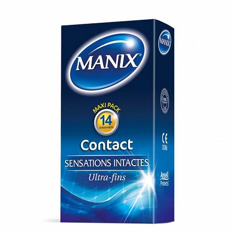Manix preservatifs contact x14