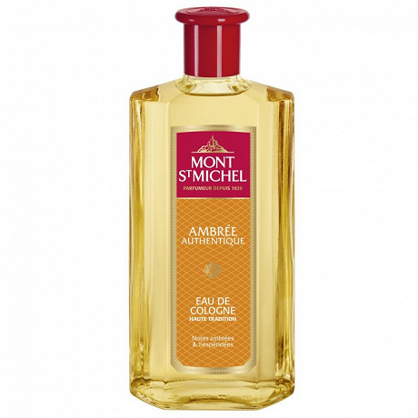 Mont St Michel eau de Cologne ambrée authentique 500ml