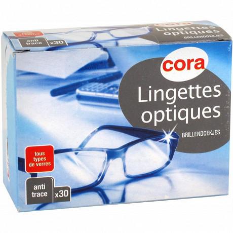 Cora lingettes optiques x 30