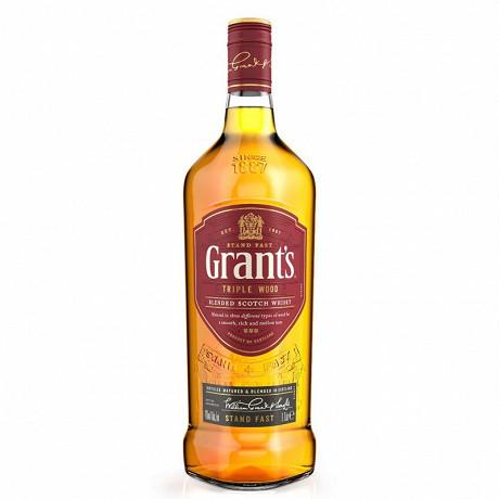 Grant's triple wood 1L 40% vol