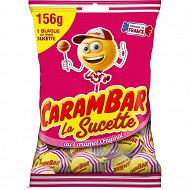 Carambar sucette caramel 156g
