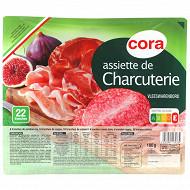 Cora assiette de charcuterie 180g