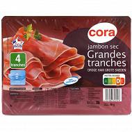 Cora jambon sec 7 mois 4 grandes tranches 90g
