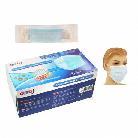 Masques chirurgicaux 3 plis 1 boîte de 50