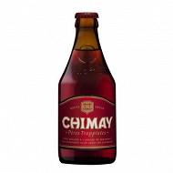Chimay rouge bière belge trappiste 33 cl 7% Vol.