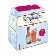 Hoegaarden rosée 6 x 25 cl 3% Vol.