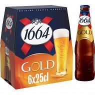 1664 Gold 6 x 25  cl 6,1% Vol.