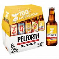 Pelforth blondeau pack 6x25cl 5.8%vol