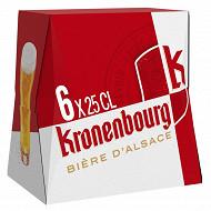 Kronenbourg 6x25cl 4.2%vol