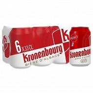 Kronenbourg boites 6x33cl 4.2%vol