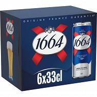 1664 boîtes 6x33cl 5.5%vol
