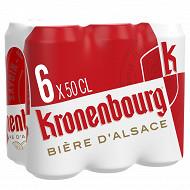 Kronenbourg boite 6x50cl 4.2%vol
