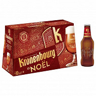 Kronenbourg biere noel 10x25cl 5.5%vol