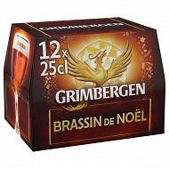 Grimberger brassin de Noel12 x 25 cl 6,5% Vol.