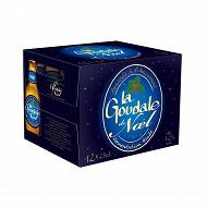 La goudale de noel pack biére ambrée 12 x 25cl 7.2% Vol.