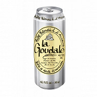 La goudale bière blonde à l'ancienne boite 50cl 7.2%