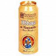 Abbaye de Fontenelle boite 50 cl 6,6%vol