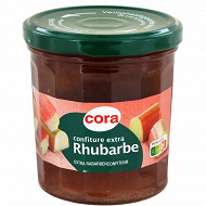 Cora confiture extra rhubarbe 370g