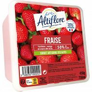 Altiflore sorbet artisanal fraise 450g - 750ml