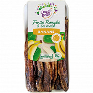 Banane séchée barquette 250g