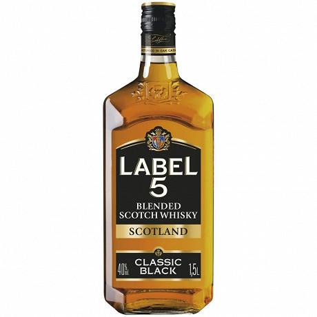 Label 5 scotch whisky 1.5l 40% vol
