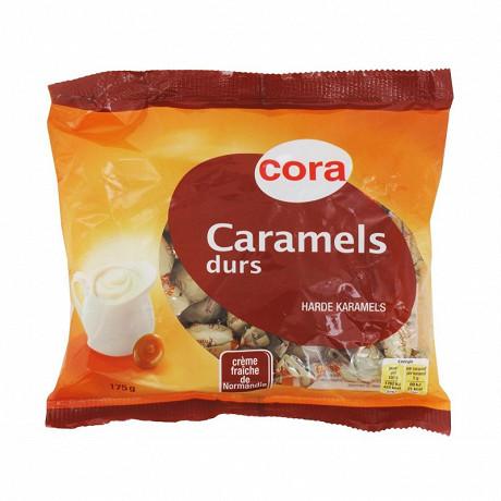Cora caramel dur à la crème fraîche de Normandie 175g