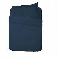 Influx taie d'oreiller 65x65 percale bleu