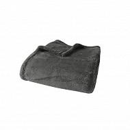 Plaid ultraplush 125x150 anthracite