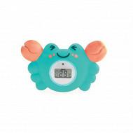 Thermomètre de bain digital crabe Tigex